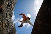 Granite rocks, Whisky Bay, Wilsons Promontory National Park, Victoria, Australia - Stock Image - C90GP7