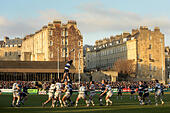 Rugby Union - Guinness Premiership - Bath Rugby v Northampton Saints - The Recreation Ground - Stock Image - GBA2J7