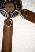Detail of ceiling fan. - Stock Image - AKHEAP
