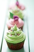 cupcakes - Stock Image - C36EPF