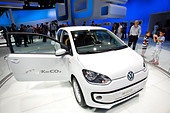Volkswagen, VW Eco up, 64th International Motor Show, IAA, 2011, Frankfurt am Main, Hesse, Germany, Europe - Stock Image - CRE9YM