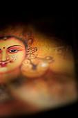 Hindu goddess Lakshmi. Sacred India - Stock Image - BGEFHN