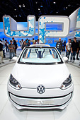Volkswagen, VW up, convertible, 64th International Motor Show, IAA, 2011, Frankfurt am Main, Hesse, Germany, Europe - Stock Image - CREA07