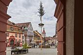 Black Forest: Gengenbach in Black Forest - Stock Image - HBAA6E