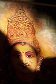 Hindu goddess Lakshmi. Sacred India - Stock Image - BGEFFX