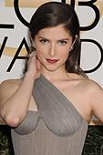 Beverly Hills, CA. 8th Jan, 2017. Anna Kendrick at arrivals for 74th Annual Golden Globe Awards 2017 - Arrivals, The Beverly Hilton Hotel, Beverly Hills, CA January 8, 2017. © Adrian Newton/Everett Collection/Alamy Live News - Stock Image - HGGE2Y