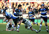 Rugby Union - Guinness Premiership - Bath Rugby v Northampton Saints - The Recreation Ground - Stock Image - GBA2MA