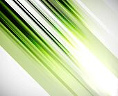Green abstract straight lines vector background - Stock Image - DNP73Y