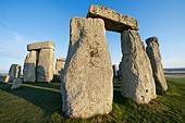 England, Wiltshire, Stonehenge - Stock Image - CPFBW1