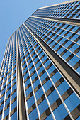 Low angle view of office building - Stock Image - D18YGP