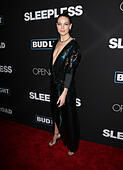 Los Angeles, CA - JANUARY 05: Michelle Monaghan, At Premiere Of Open Road Films' 'Sleepless', At Regal LA Live Stadium 14 In California on January 05, 2017. Credit: Faye Sadou/MediaPunch - Stock Image - HGAC49