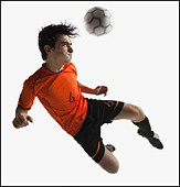 Football player - Stock Image - BMJ143