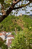 Black Forest: Hornberg in Black Forest - Stock Image - HB9G1E