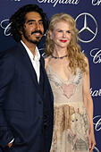 Palm Springs, Ca. 2nd Jan, 2017. Dev Patel, Nicole Kidman at the 2017 Palm Springs International Film Festival Gala at the Palm Springs Convention Center in Palm Springs, California on January 2, 2017. © David Edwards/Media Punch/Alamy Live News - Stock Image - HG69MK