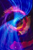 nightzoom lighting abstract - Stock Image - A6FYCG