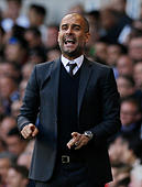 Britain Soccer Football - Tottenham Hotspur v Manchester City - Premier League - White Hart Lane - 2/10/16 Manchester City manager Pep Guardiola  Action Images via Reuters / Andrew Couldridge Livepic EDITORIAL USE ONLY. - Stock Image - H9WCD6