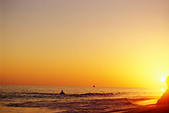 Mexico, Cabo San Lucas, Sunset, Solmar Beach - Stock Image - AJ1NKD