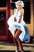 MARILYN MONROE THE SEVEN YEAR ITCH (1955) - Stock Image - DT57PJ