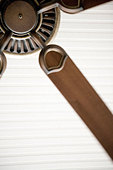 Detail of ceiling fan. - Stock Image - AKG5HR