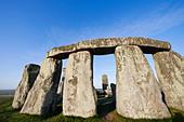 England, Wiltshire, Stonehenge - Stock Image - CPFBWX