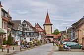 Black Forest: Gengenbach in Black Forest - Stock Image - HBAA6B