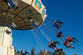 Sweden, Goteborg, Liseberg Amusement Park - Stock Image - AE0P01