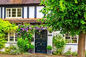 a lovely cottage in Ross on Wye, Hereford - Stock Image - HEYKGC
