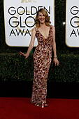 Los Angeles, California, USA. 08th Jan, 2017. Beverly Hills, Us. 08th Jan, 2017. Laura Dern arrives at the 74th Annual Golden Globe Awards, Golden Globes, in Beverly Hills, Los Angeles, USA, on 08 January 2017. Photo: Hubert Boesl Photo: Hubert Boesl//dpa/Alamy Live News © dpa picture alliance/Alamy Live News - Stock Image - HGEDXX