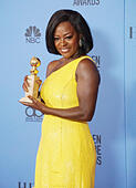 Los Angeles, USA. 08th Jan, 2017. Viola Davis 360 Press room at the 74th Annual Golden Globe Awards at the Beverly Hilton in Los Angeles. January 08, 2017 © Gamma-USA/Alamy Live News - Stock Image - HGGBPM