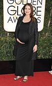 Beverly Hills, CA. 8th Jan, 2017. Saffron Burrows at arrivals for 74th Annual Golden Globe Awards 2017 - Arrivals 2, The Beverly Hilton Hotel, Beverly Hills, CA January 8, 2017. © Adrian Newton/Everett Collection/Alamy Live News - Stock Image - HGGEEC